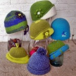 Blue-Green Hat Collection